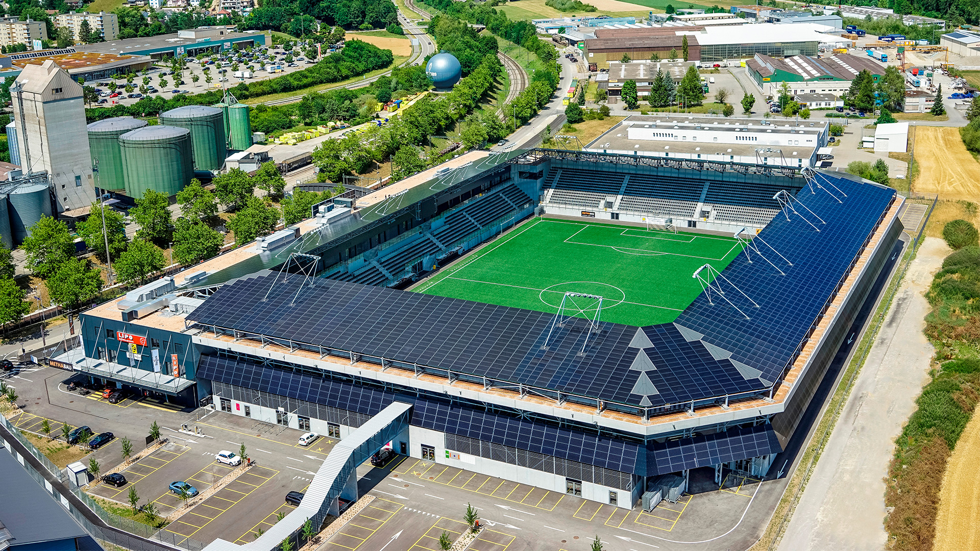 Größtes Fußballstadion Europas