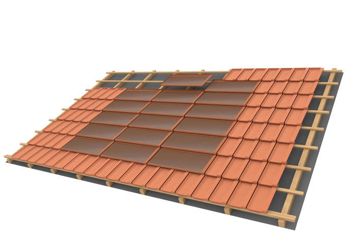 Solar Tile Megasol Energie Ag