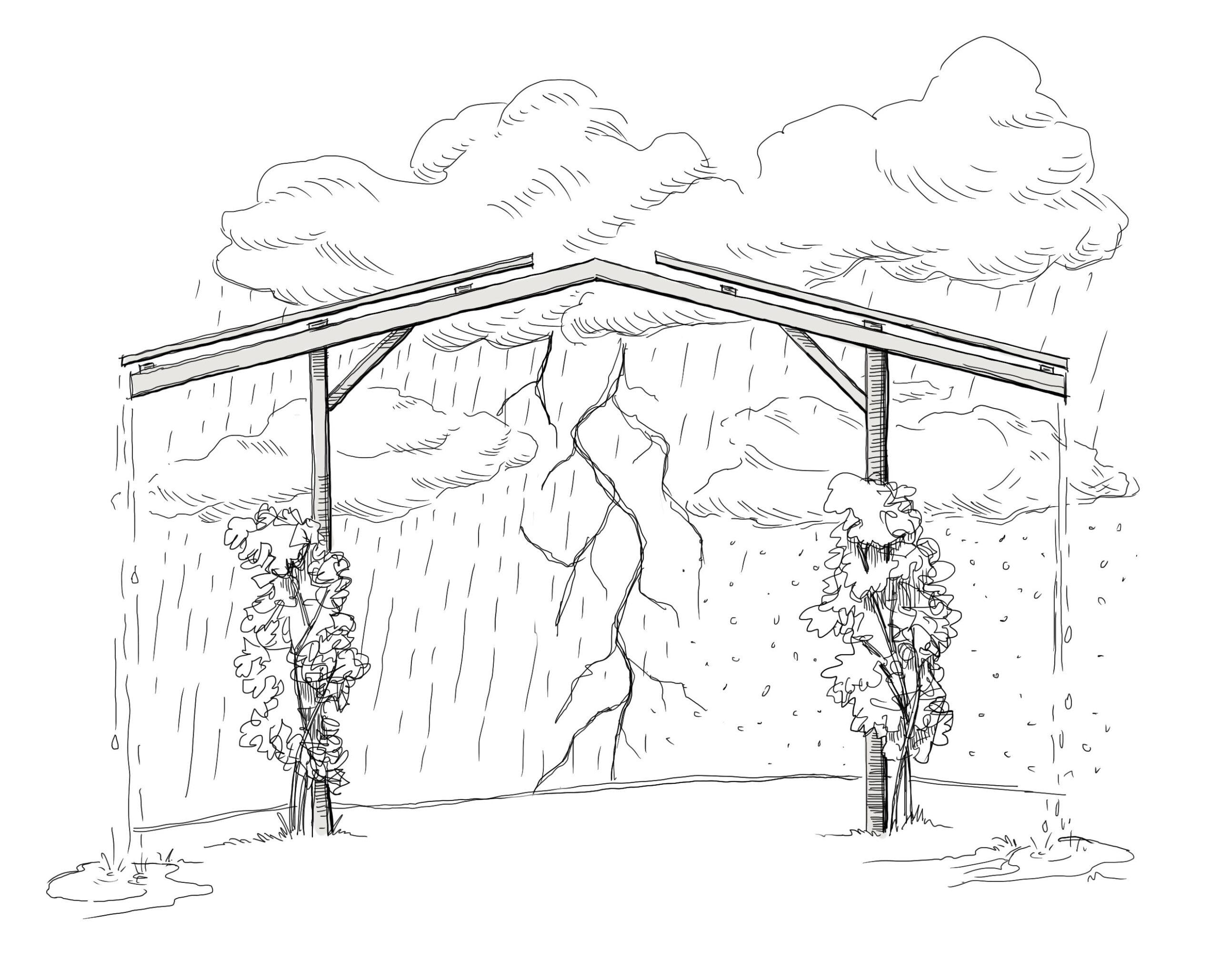 Vorteile-Agri-PV-Solardach-über-Agrarfläche extreme Witterung